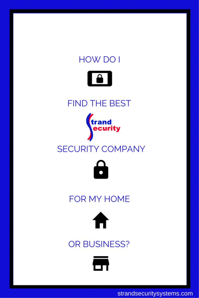 How To Find The best Security Company for your Home or Business