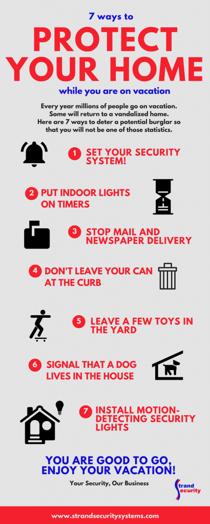 7 ways to protect your home while you are on vacation