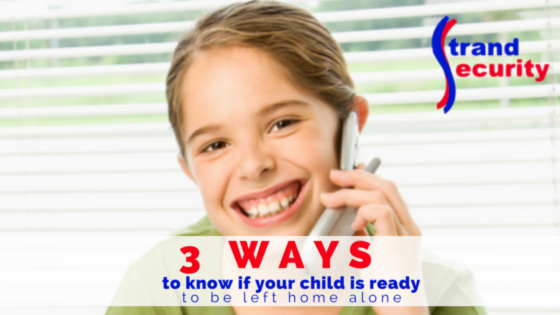 Is your child asking for you to leave them home alone but you aren't sure if they are? Here are three ways to help you determine whether it is the right time, or not!
