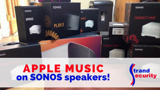 Apple Music on SONOS Speakers