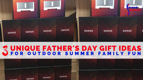 3 unique father's day gift ideas for outdoor summer family fun