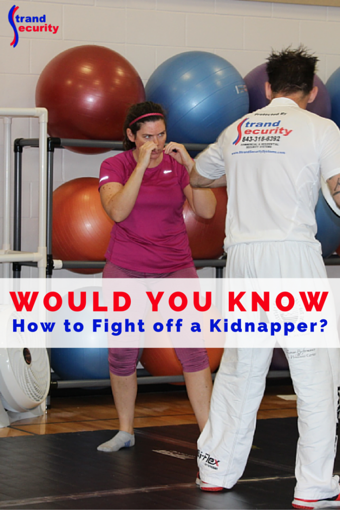 Would you know how to fend off a kidnapper?