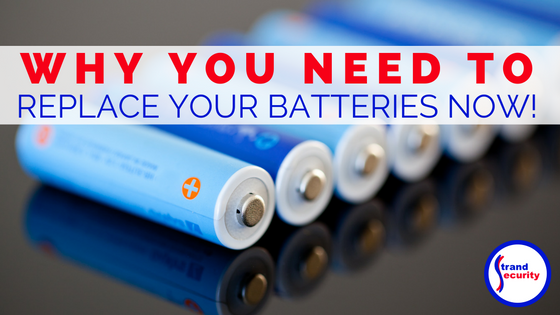 Replace your smoke detector batteries now to keep your family safe!