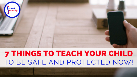 7 things to teach your child so that they are safe and protected even when staying home alone. Myrtle Beach Safety and Security Experts