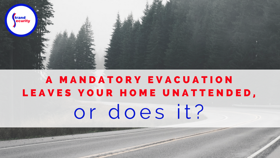 When a mandatory evacuation is called for, it's hard to leave your home and business behind. Keep an eye on the homefront with Honeywell Total Connect!