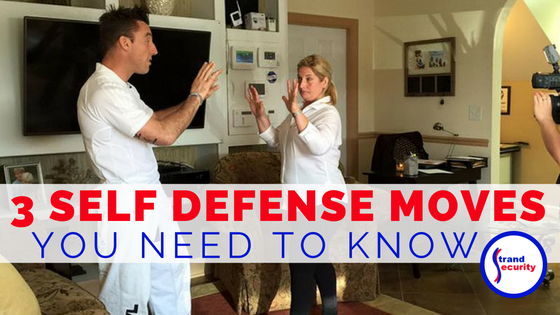 3 self-defense moves you need to know - Join our next self-defense class in Myrtle Beach