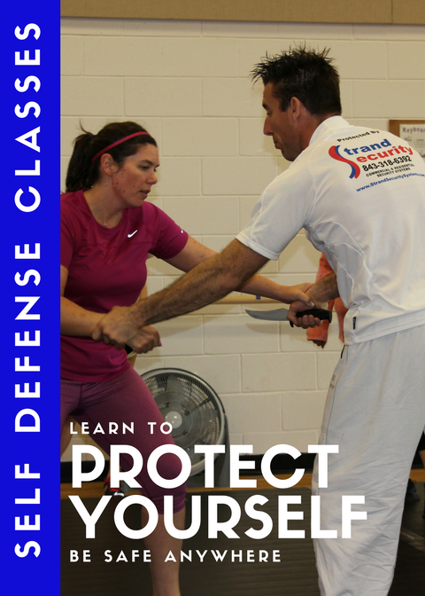 Personal safety and self-defense class in Myrtle Beach