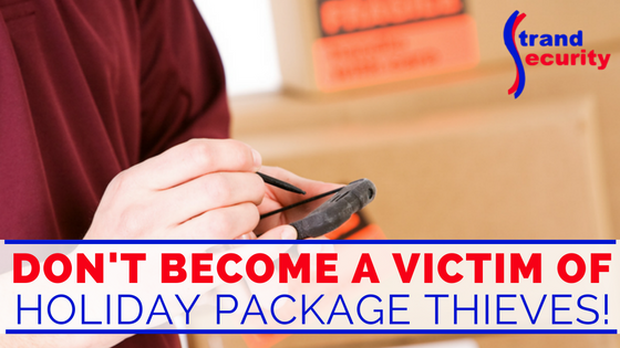 Myrtle Beach Home Secuirty - Do not become a victim of holiday package thieves