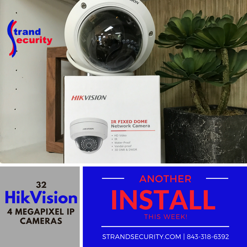 HD Camera Installation in Myrtle Beach! Security Cameras