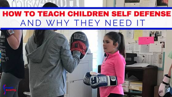 How to teach children self defense. Why should children know self defense.
