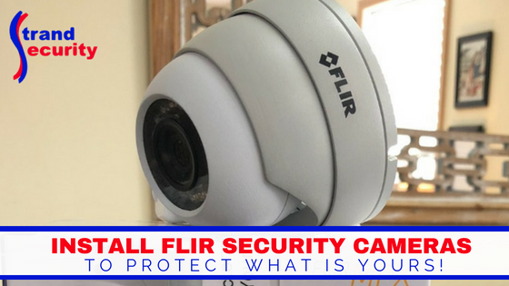 FLIR camera at Strand Security in Myrtle Beach