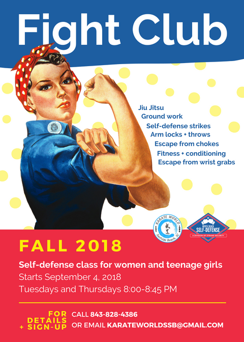 Myrtle Beach Self Defense Introduces 'Fight Club' for Women and