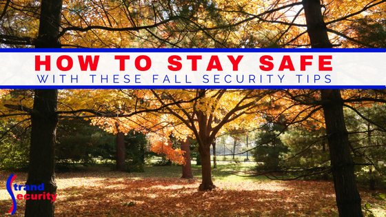 Fall security tips