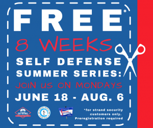 Summer Series self defense