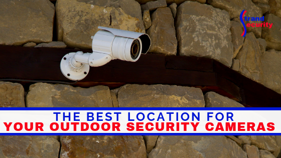 where to place your outdoor security cameras
