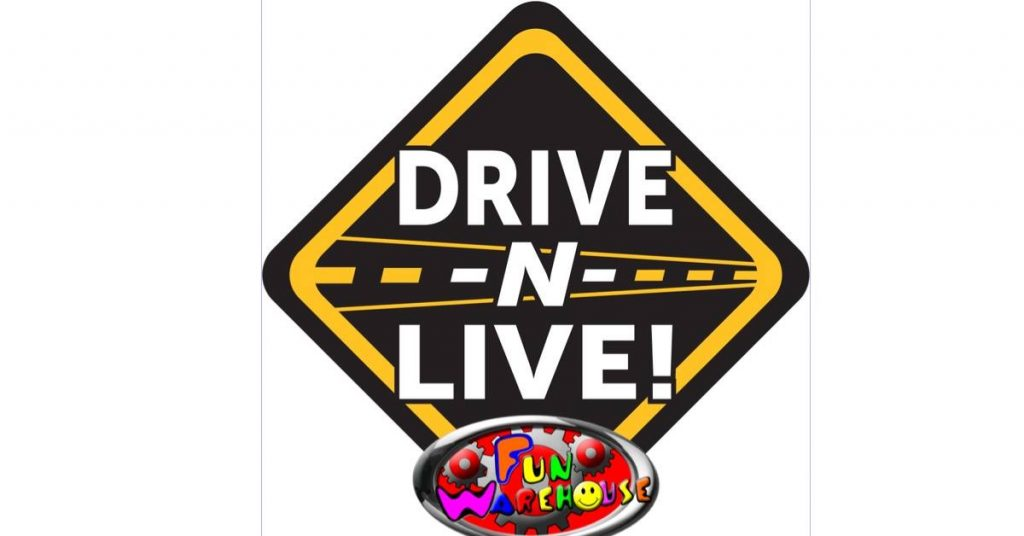 drive n live event at the Fun Warehouse in Myrtle Beach
