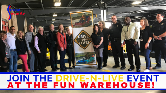 drive-n-live event at the Fun Warehouse Myrtle Beach