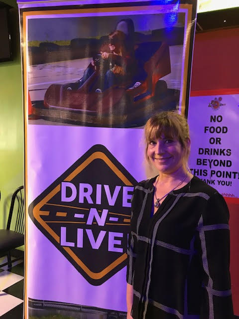 Heather of Strand Security at Drive N Live