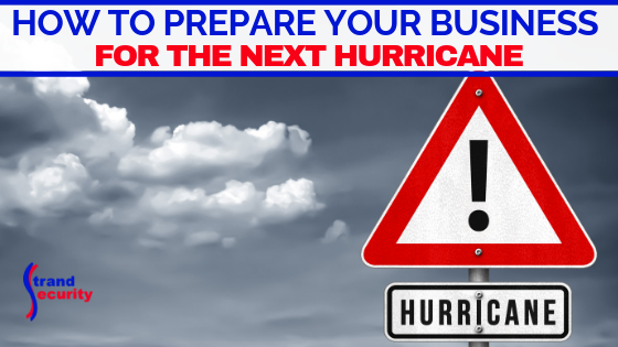 prepare business for hurricane