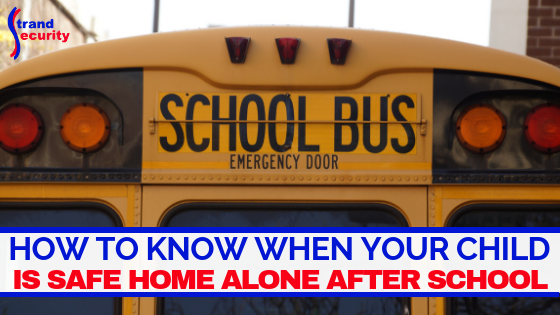 home alone after school