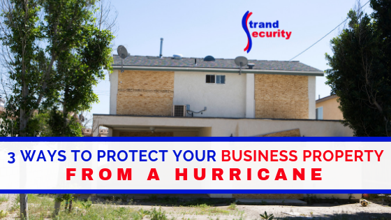 protect business during hurricane