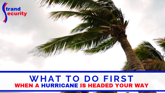 hurricane is coming to the Grand Strand how to prepare