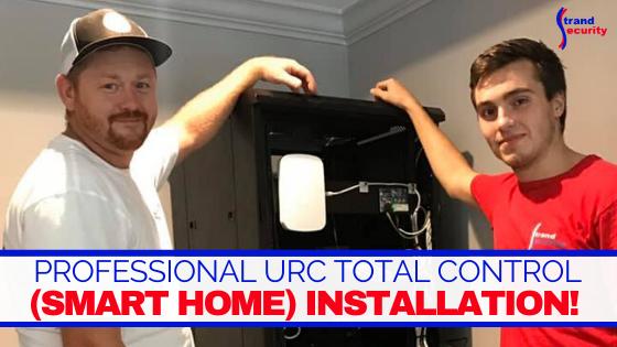 URC installation