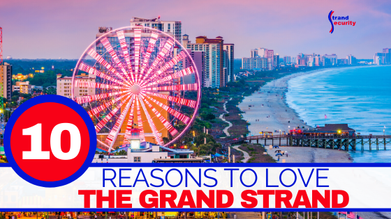 The Grand Strand Myrtle Beach South Carolina