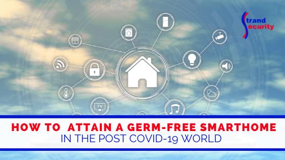 germ-free smarthome