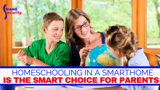 smarthome homeschooling with technology