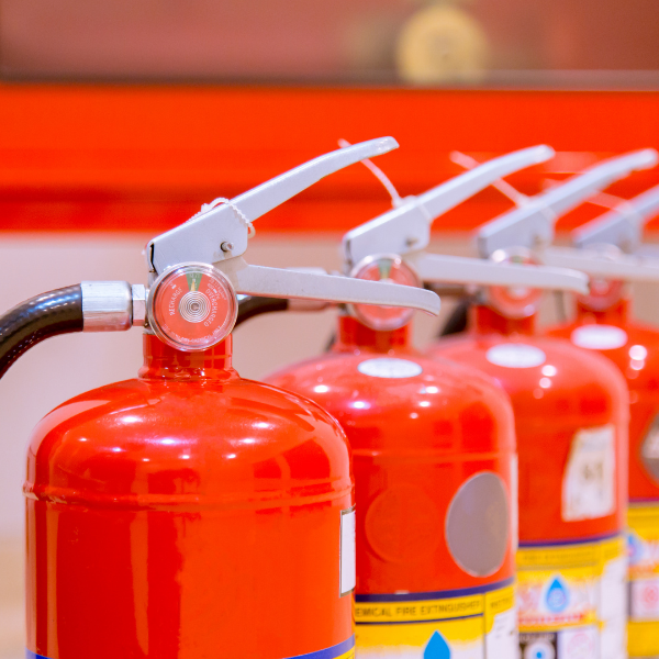 Where to store fire extinguishers in your home