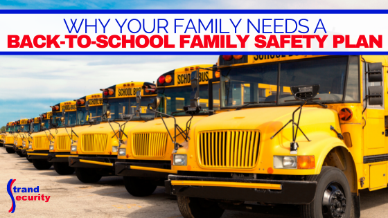 back to school family safety plan