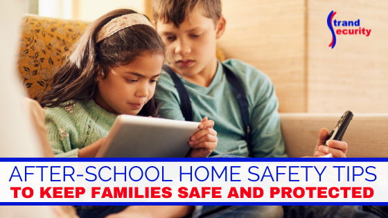after school safety tips for families