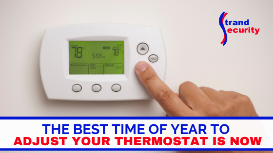 adjust your thermostat this fall